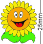 Sunflower Badge