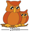 Two Owls Badge